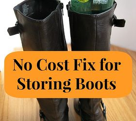How To Store Your Boots, Cleaning Tips, Repurposing Upcycling, Organize  Your Closet And