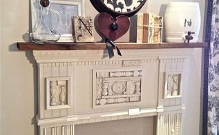 mantle love and logo, crafts, fireplaces mantels, home decor, Mantle Love and Logo