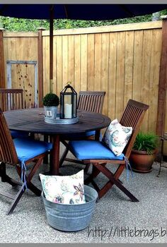 back deck decorating, decks, gardening, outdoor living, porches