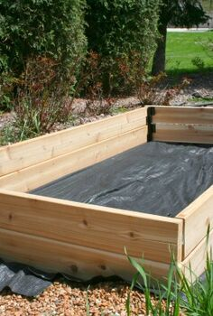 simple raised bed, diy, gardening, raised garden beds, woodworking projects