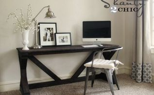 diy farmhouse desk for my bedroom, home decor, painted furniture