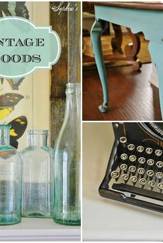 carolina vintage mini market, home decor, painted furniture, repurposing upcycling