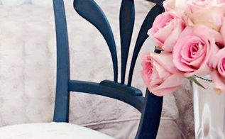 what my no sew upholstery project taught me about life, home decor, painted furniture