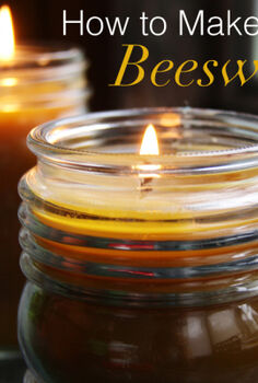 how to make beeswax candles, crafts, seasonal holiday decor, Easy to make beeswax candles are beautiful and budget friendly gifts