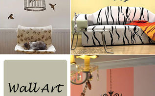 cutting edge stencils wall art stencils make a statement, painting, Focal Point wall art stencils