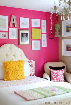 big girl bedroom reveal, bedroom ideas, home decor