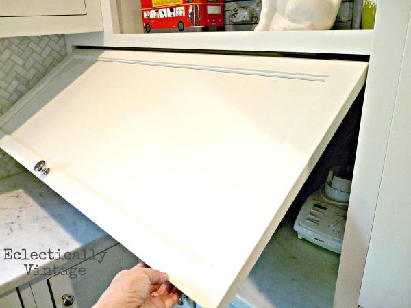 A great idea for appliance garage.   Hometalk