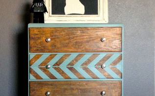 herringbone dresser, chalk paint, painted furniture, Annie Sloan Chalk Paint in Duck Egg with a cloat of clear wax
