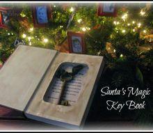 santa s magic key book, crafts, seasonal holiday decor