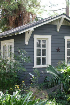 10 x14 home office shed by historic shed provides a dedicated private work space, craft rooms, home office, outdoor living, 10 x14 home office shed with wood floor bead board ceiling ac internet and cable TV for a comfortable and distraction free work space