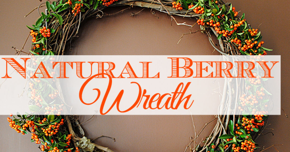 DIY a Natural Berry Wreath for Fall | Hometalk