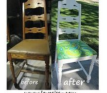 the awesomeness of white paint, painted furniture