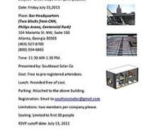 free lunch amp learn you can learn about solar thermal applications solar, Lunch Learn FREE EVENT