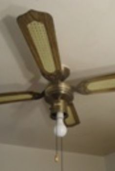 replacing amp cool weather operation of heart a ceiling fan, electrical, hvac, Before Old Kitchen Ceiling Fan