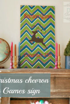 decorating for christmas with a diy sign repurposed tabletop, christmas decorations, crafts, repurposing upcycling, seasonal holiday decor, It s non traditional colorful and festive and fits our eclectic family room s style