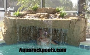 new swimming pool waterfalls hand carve and natural, ponds water features, pool designs