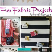 fun fabric projects, crafts, With fabric the possibilities are endless
