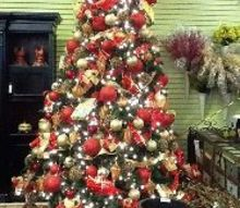 we re getting ready for the first ever holiday inspiration event this saturday at, christmas decorations, seasonal holiday decor, oh Christmas tree oh Christmas tree