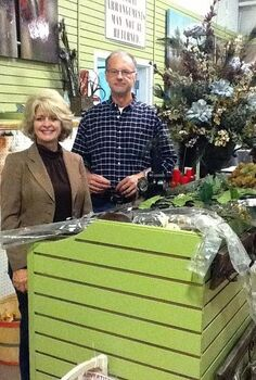 we re getting ready for the first ever holiday inspiration event this saturday at, christmas decorations, seasonal holiday decor, Lee Anne Culpepper and Danny Clark