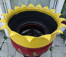 new craze old planters as miriam i has posted earlier before, gardening, repurposing upcycling