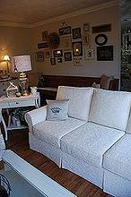 favoriteroom, fireplaces mantels, home decor, living room ideas, I stripped the Church bench in background made a bench seat for it