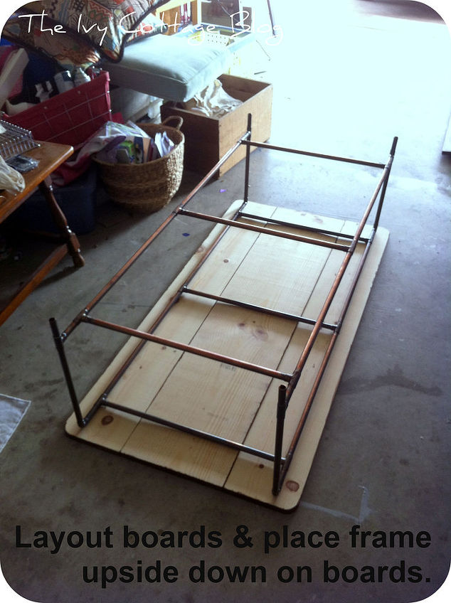 Restoration Hardware Coffee Table Knock Off Diy Painted Furniture Woodworking Projects In