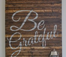 you don t have to be a pallet pro to create this sign, crafts, pallet, seasonal holiday decor, thanksgiving decorations
