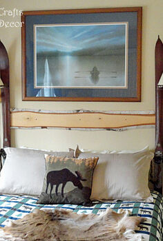 easy diy headboard, bedroom ideas, diy, painted furniture, repurposing upcycling, rustic furniture