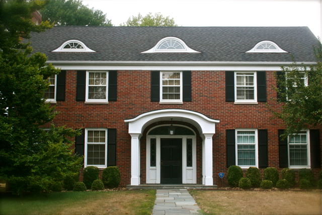 A brick colonial house tour hometalk for Colonial brick
