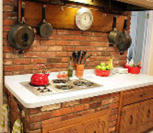 q kitchen countertops, countertops, home decor, home improvement, kitchen design, The hood brick are intended to be the focal pt of the room