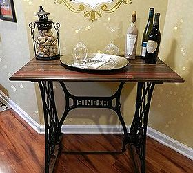 Charming Singer Sewing Machine Table, Diy, Painted Furniture