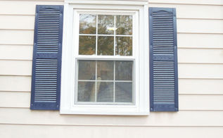 painted shutters using my homeright paint sprayer, curb appeal, diy, home maintenance repairs, painting