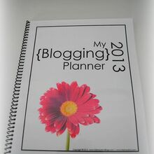 2013 blog planner, cleaning tips, crafts
