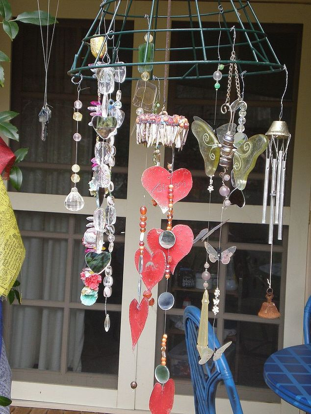 My bits and pieces windchimes hometalk for Craft bits and pieces