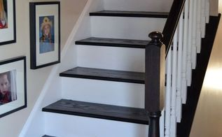 diy staircase makeover, diy, flooring, home decor, how to, stairs, Finished staircase makeover