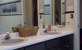 updating bathroom cabinets, bathroom ideas, home decor, painting, Love