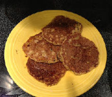 quinoa pancakes, Just like the real thing