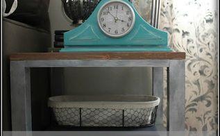 mantel clock makeover, home decor, repurposing upcycling