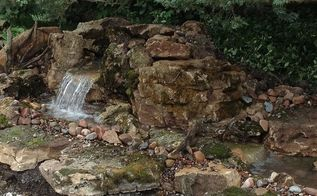 barrington il pond waterfall and stream installation by gem ponds, gardening, landscape, outdoor living, ponds water features, We got power