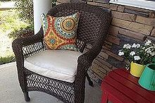 the easy way to update outdoor furniture, outdoor furniture, outdoor living, painted furniture