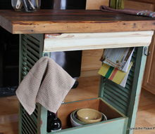 shutter island, diy, kitchen design, kitchen island, painted furniture, repurposing upcycling, woodworking projects, the drawer adds lots of storage options