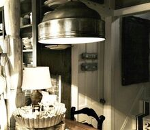 repurposed vintage meat dome, repurposing upcycling, the kitchen in this old farmhouse