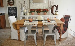 vintage fall dining room, dining room ideas, seasonal holiday decor