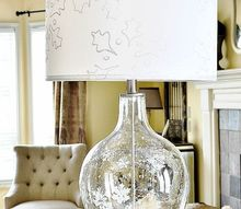 etched glass snowflake lamp holiday design challenge, lighting, seasonal holiday decor, I decided to Let it Snow