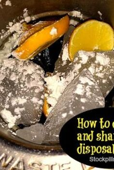 how to deodorize and sharpen your disposal naturally, cleaning tips, How To Deodorize and Sharpen Your Disposal Naturally