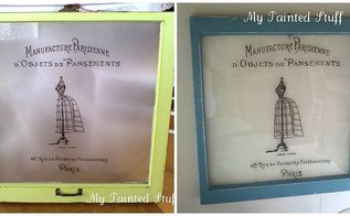 repurposed vintage windows, home decor, repurposing upcycling, After