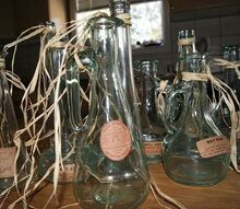 apothecary jars and bottles, crafts