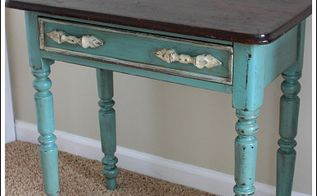 chalk paint furniture ideas, chalk paint, painted furniture, Leave the top of a piece stained for a different look