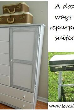 repurpose suitcases, repurposing upcycling
