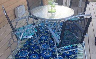 diy outdoor rug, crafts, decks, reupholster